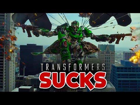 WHY Transformers 4 SUCKS - Bobby Burns