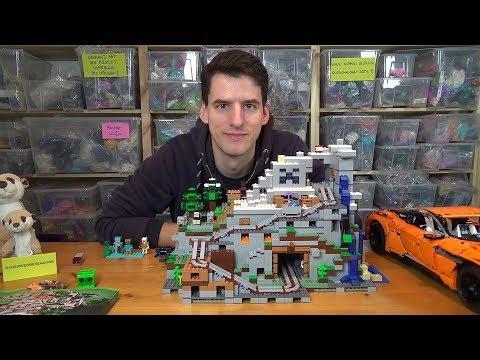 LEGO® Minecraft 21137 - Die Berghöhle