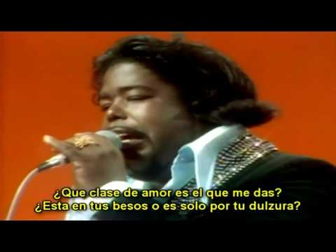 Barry White  Cant Get Enough of Your Love Babe  1975Subtitulado en español
