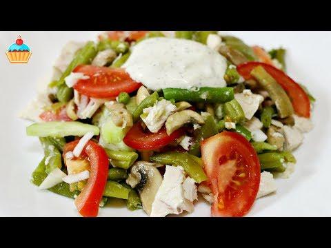 Рецепт Ну, оОчень вкусный - Салат из стручковой Фасоли