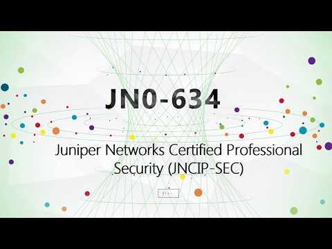 JN0-634 Security, Professional JNCIP-SEC practice test
