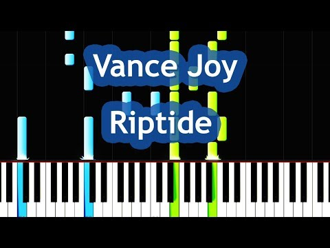 Vance Joy - Riptide Piano Tutorial