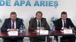 Conferință de presă la Compania de Apă Arieș (31.10.2018)
