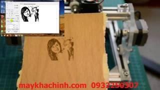 Hướng dẫn khắc ảnh chân dung bằng máy khắc laser