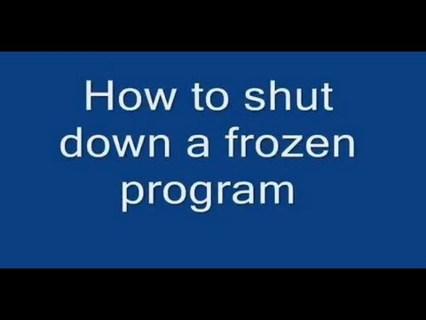 node how to close program