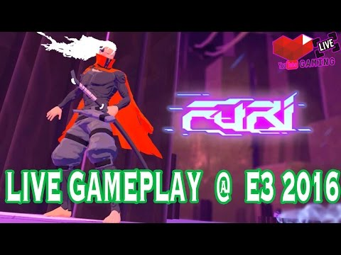 FURI | Gameplay | E3 Expo 2016 | PLAY STATION 4 | Live | Booth | Windows 10
