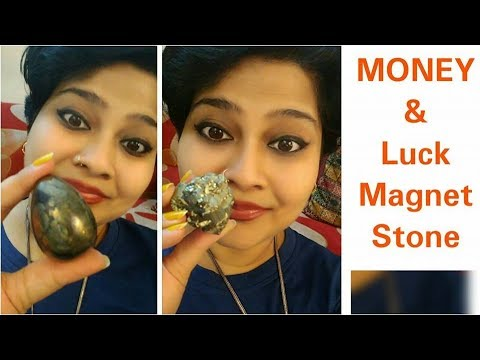 MONEY and LUCK Magnet Crystal Stone | PAISE ko asaani se KHEECHE | Pyrite Crystal Stone