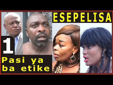 Pasi ya ba etike 1 Theatre Congolais 2017 Modero, Barcelone, Doudou Soupou, Armand, Elko, Blandine