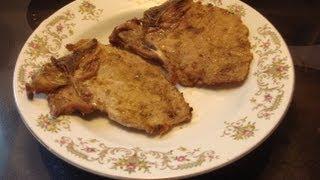 Fennel Pork Chops Recipe