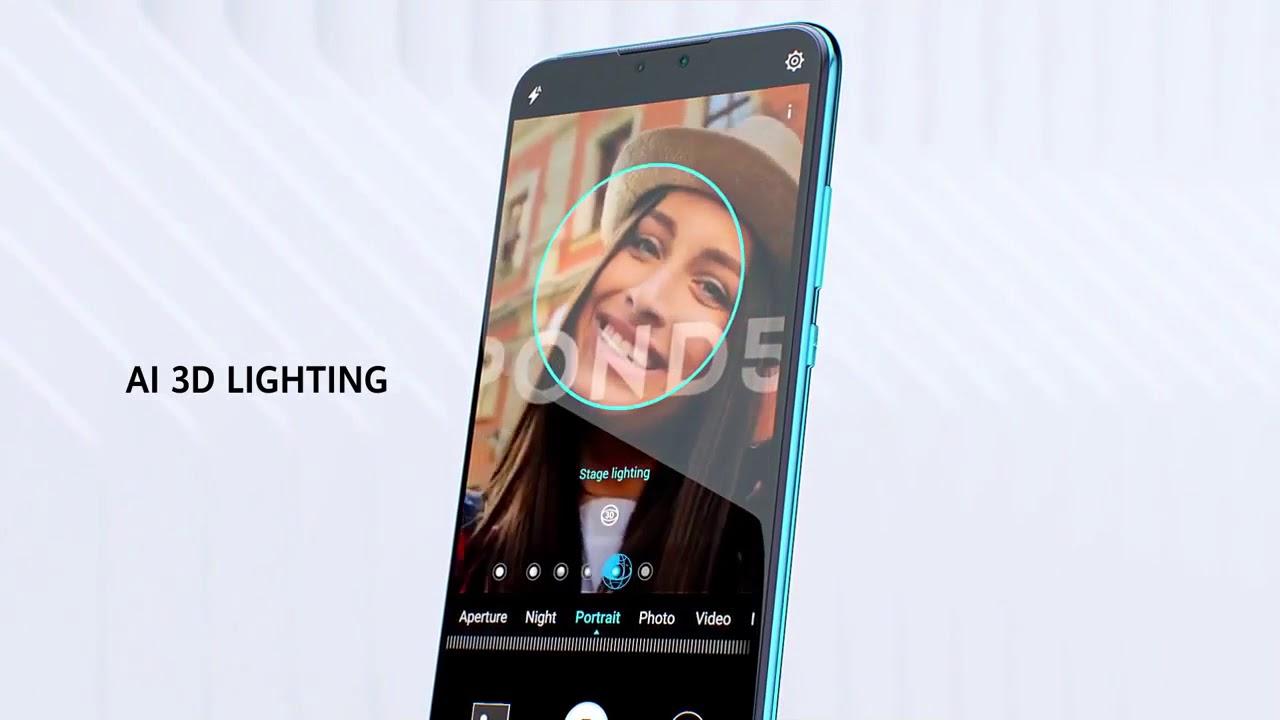 Huawei Y9 (2019) - Midnight Black