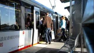 Muni Metro M Ocean View @ Stonestown Station San Francisco California