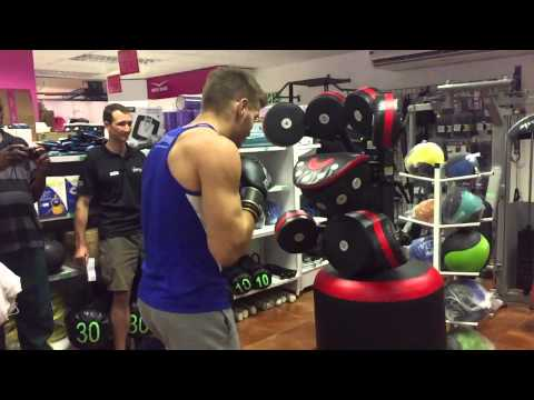 Dricus du Plessis - BoxMaster - Functional Fitness Day Active Africa
