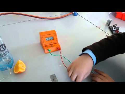 How to make a fruit battery - Jangju Lee
