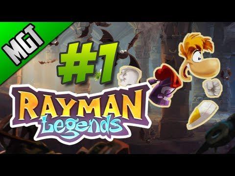 Rayman Legends Parte 1 en Español