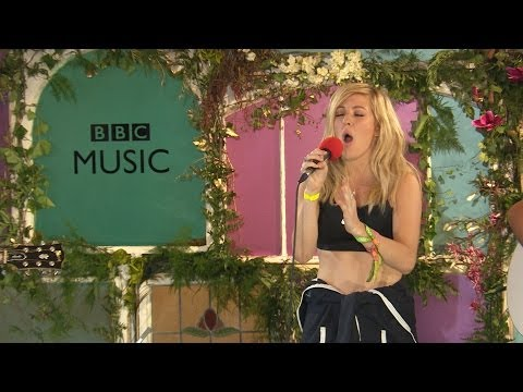 Ellie Goulding performs I Need Your Love in the BBC Music Tepee at Glastonbury 2014