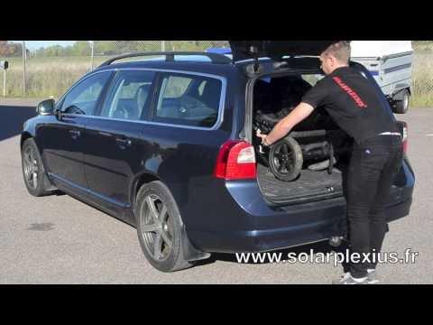 Montage Du Kit Vitres Teintées SANS Film Solarplexius Volvo V70