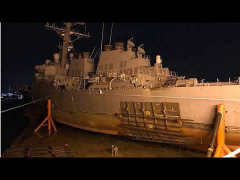 U.S. Navy Says Deadly McCain Collision Was Preventable, Relieves Ship Commander