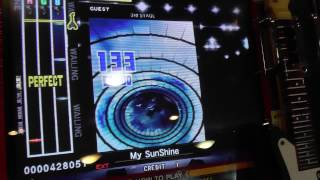『GuitarFreaks V8』 My SunShine (ROCK'A'TRENCH) (EXTREME GUITAR...
