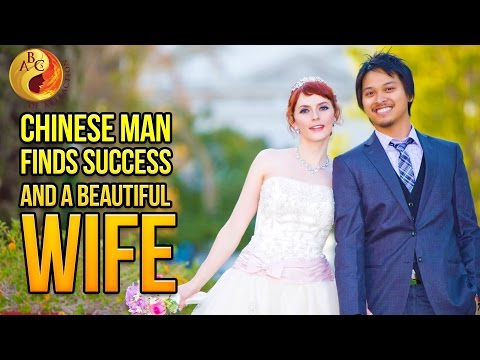 Chinese Man Finds Success And Marries Beautiful Wife After Taking This Bootcamp (AMWF Wedding)