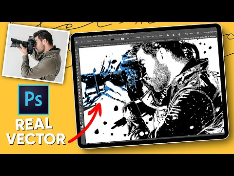 Photoshop Tutorial - Vector Splash Design From Face! thumbnail