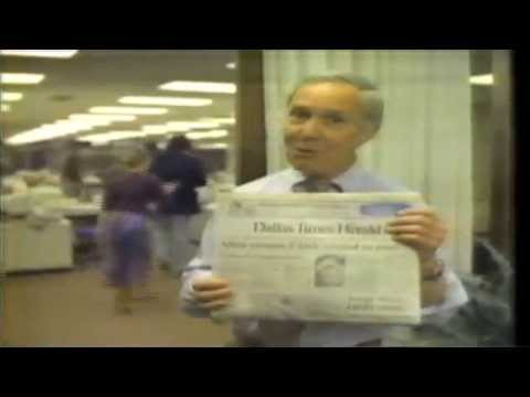 Dallas Times Herald 1982 commercial