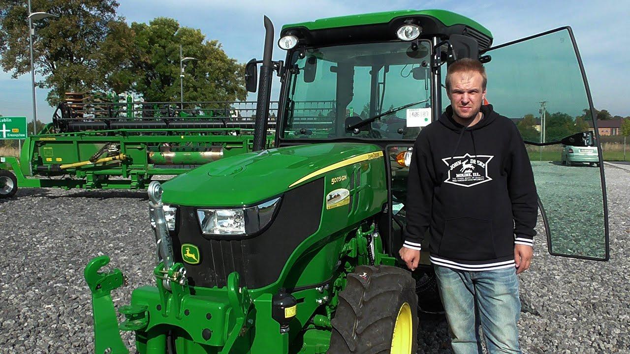 John Deere 650 >> John Deere 5075GN & JD 5075GF WANICKI AGRO - Prezentacja i ...
