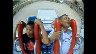 sling shot six flag fiesta texas scared to death
