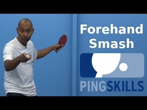 Get Forehand Smash | Table Tennis | PingSkills Images