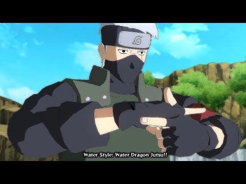 Boruto Kakashi vs Naruto & Sakura Boss Battle