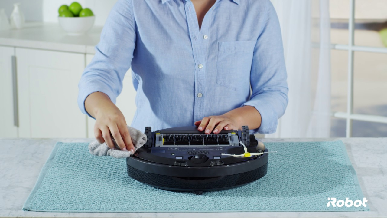How To Clean The Cliff Sensors Roomba 174 600 Series Robot