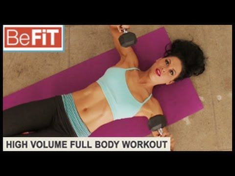 Genetic Training Workout: High Volume- Ashley Kaltwasser
