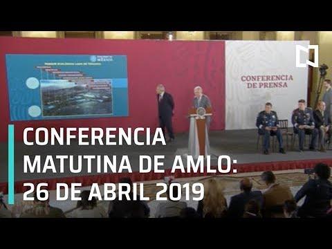 Conferencia matutina del presidente Andrés Manuel López Obrador