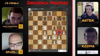 Gambar cover Ogień na szachownicy! | Drugi Półfinał Infoszach Masters