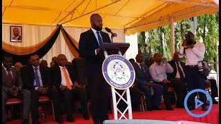 Mombasa Governor Hassan Joho wages war against corruption