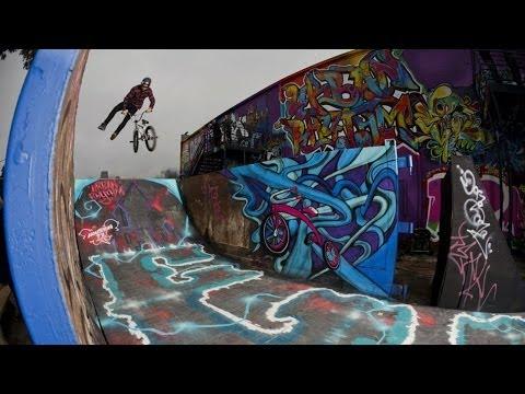 BMX dirt meets street art in Houston