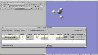 Using Gaussview to prepare an input with counterpoise correction