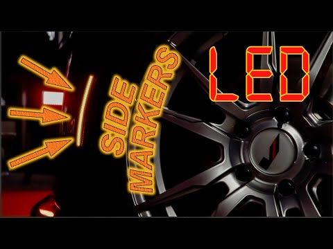 LED Side Markers Easy Install | Cadillac ATS, CTS, And 6th Gen Camaro