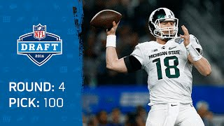 Connor Cook (QB) | Pick 100: Oakland Raiders | 2016 NFL Draft