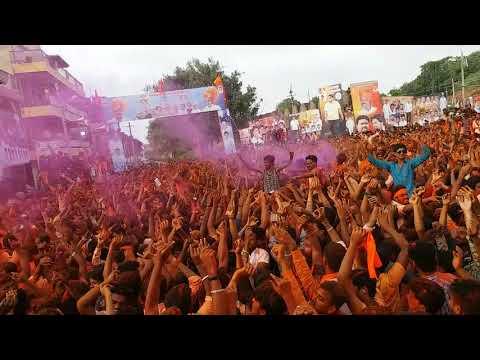 "Doble Galli Bijapur ""Ganapathi Visarjan 2017"" Shivaji Circle (""HD""1080p)"