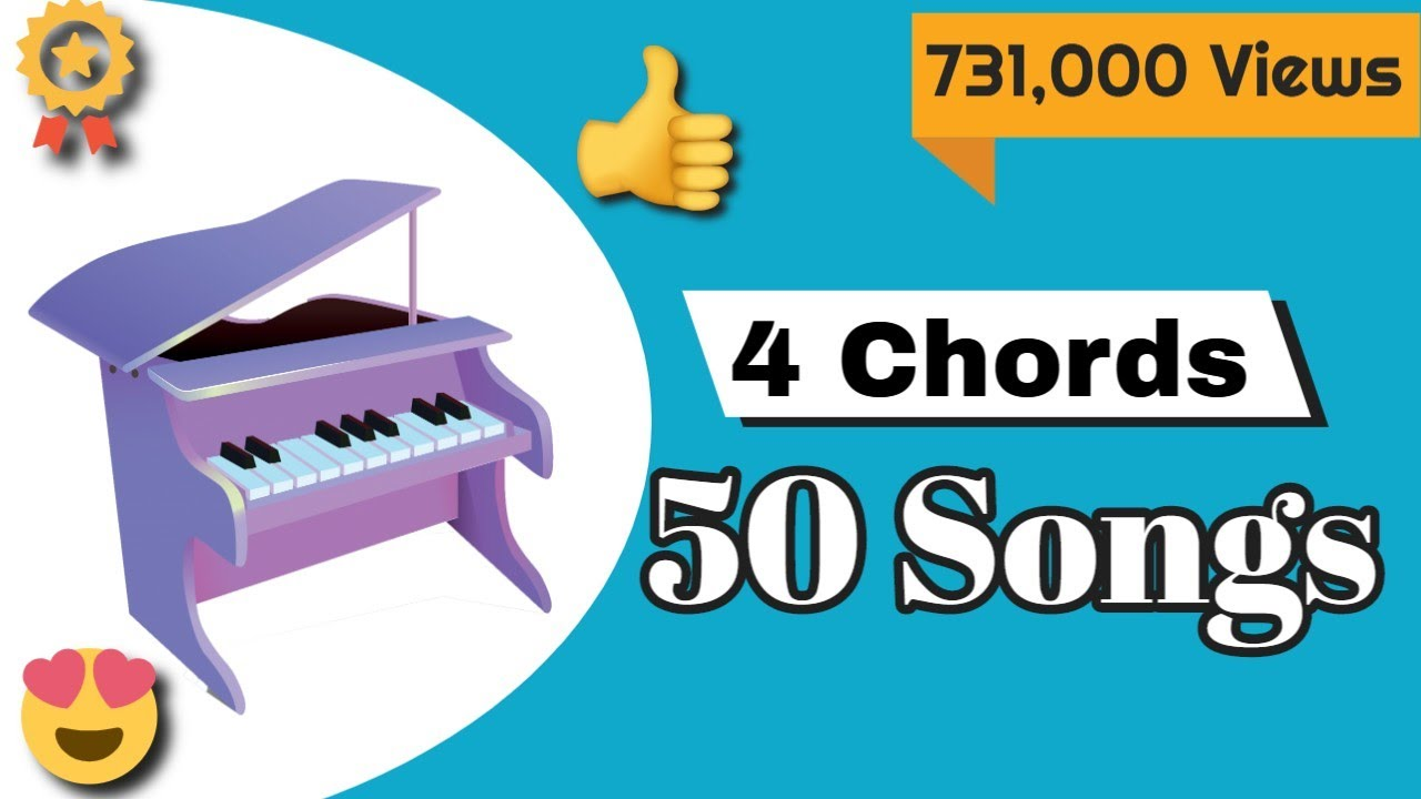 Piano lessons 50 songs on piano with just 4 chords mashup piano lessons 50 songs on piano with just 4 chords mashup hexwebz Images