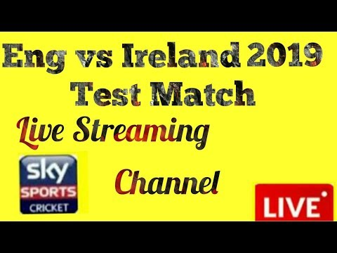 England Vs Ireland Live Streaming Channel,Schedule And Team Squad