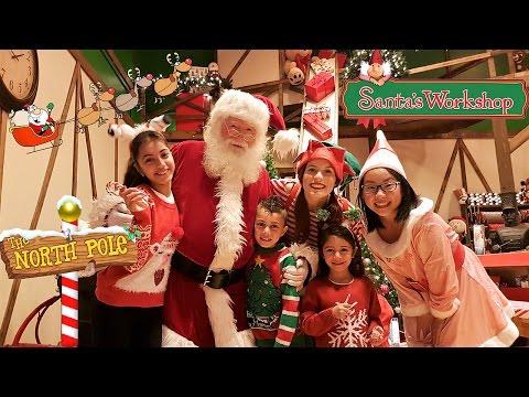 Santa's Workshop North Pole 2016 Family Vlog