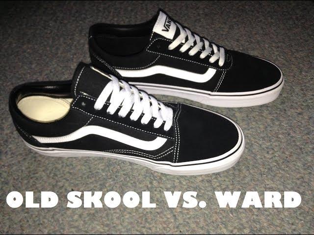 Vans Old Skool vs Vans Ward (Comparison