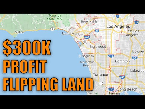 How I Made $300k Profit Flipping Land In Los Angeles | Real Estate Investing California