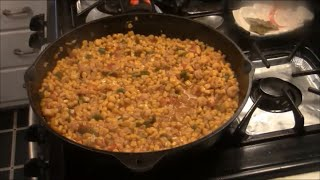 Corn and Crawfish Maque Choux..Cajun Style.