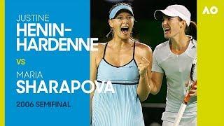 AO Classics: Henin-Hardenne v Sharapova (2006 SF)