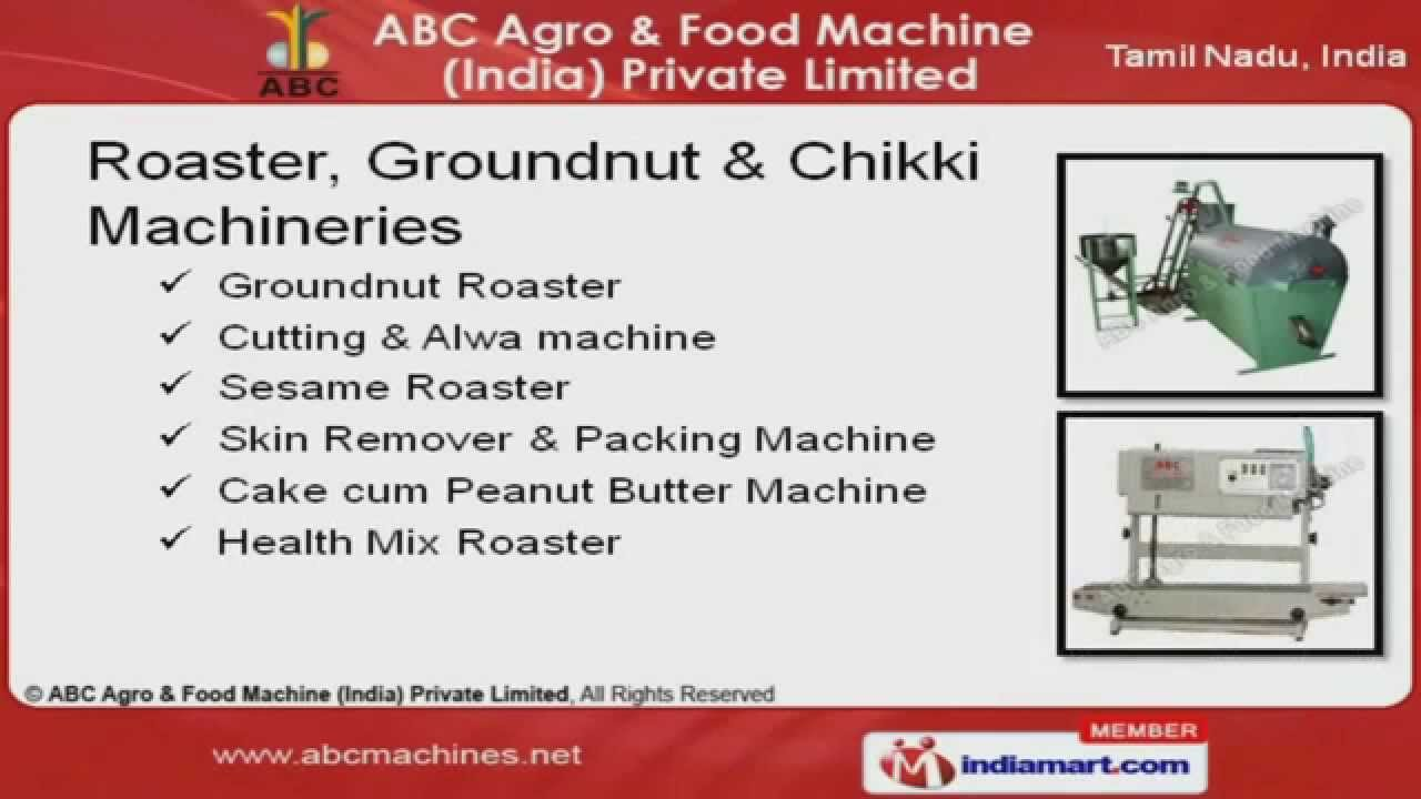 Food Processing Machines by ABC Agro & Food Machine (India) Private  Limited, Coimbatore