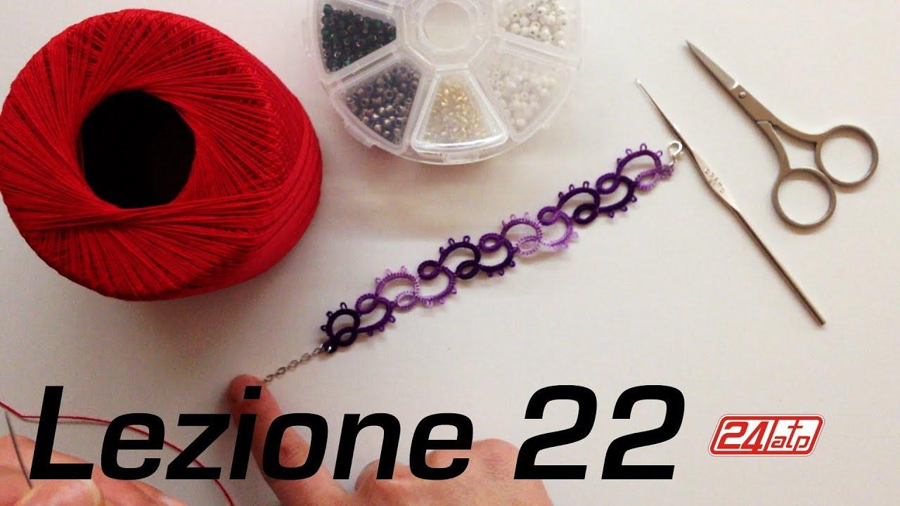 Favori Chiacchierino Ad Ago - 22˚ Lezione Bracciale Con Perline Bijoux  CF25