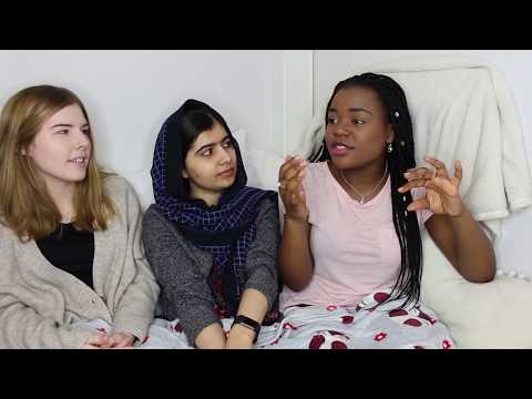 ft MALALA & KIA: exam results day? why Oxford? our application experience? Ucas & more
