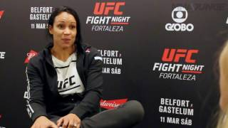 Marion Reneau explains how dealing with teenagers helped her for UFC Fight Night 106